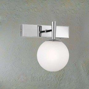 Attraktiv vägglampa H2O för badrummet