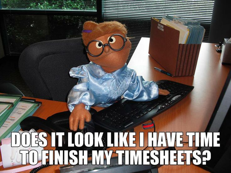 does it look like i have time to finish my timesheets