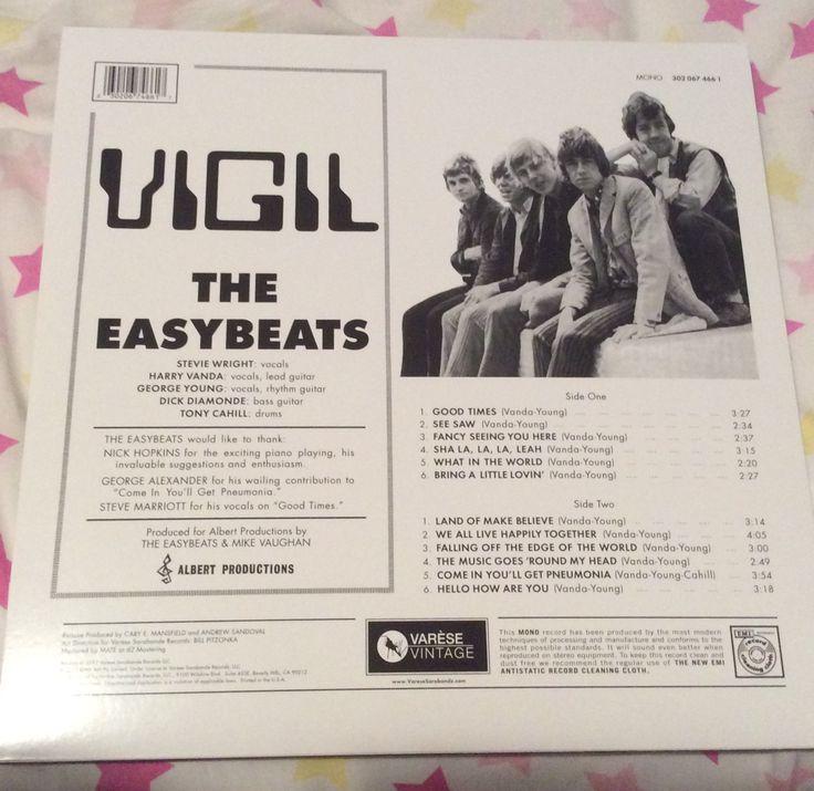 Back cover of 'Vigil'