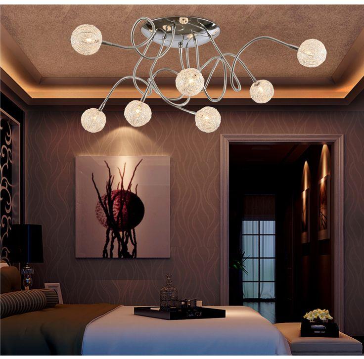 Invariant Color Antioxidant Aluminum Modern Led Ceiling Light Lamps For Living  Room Dining Room Adjustable Led Part 85