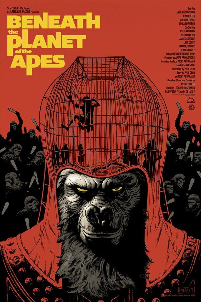 Beneath The Planet Of The Apes 1970 Planet Of The Apes