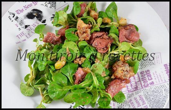 Mon tiroir à recettes - Blog de cuisine: Salade de gésiers