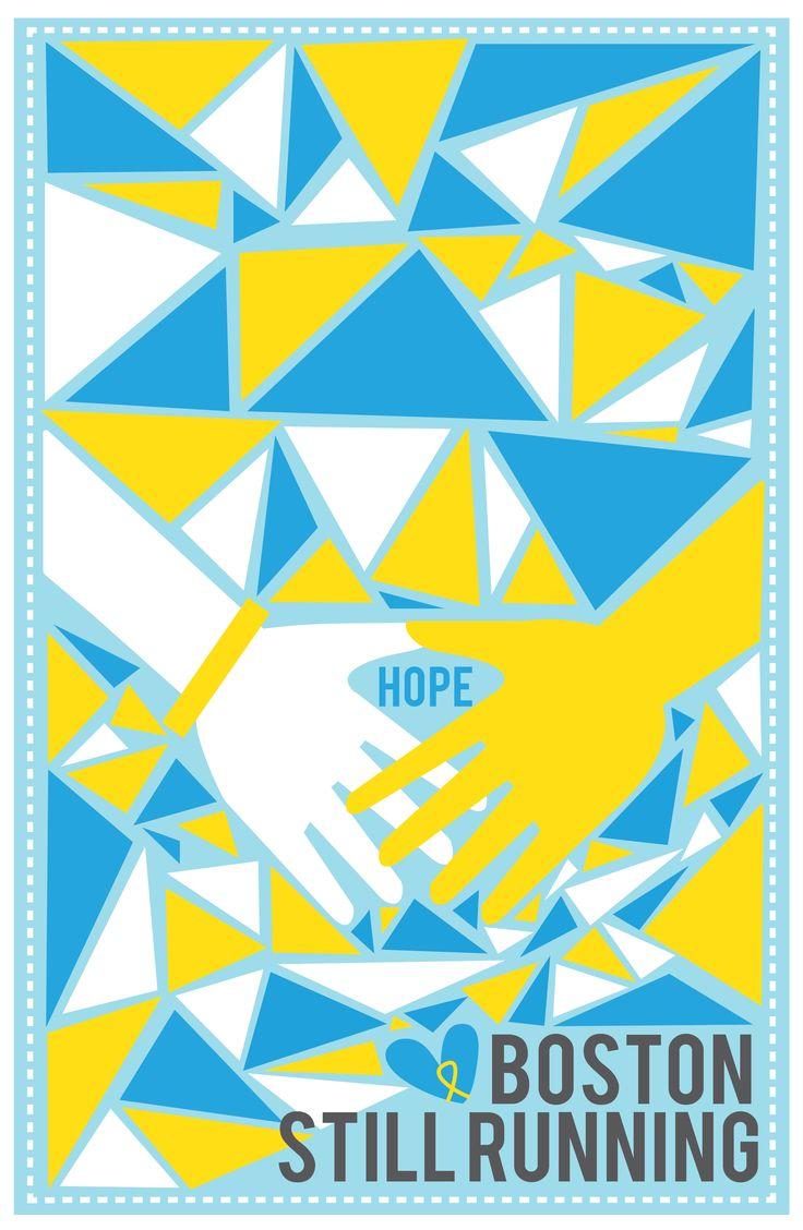 by Analuisa Del Rivero for the Boston Marathon charity. check them out at bostonartsmarathon.com