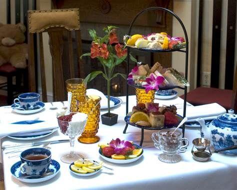 Tea Room of Savannah - typical tea fare