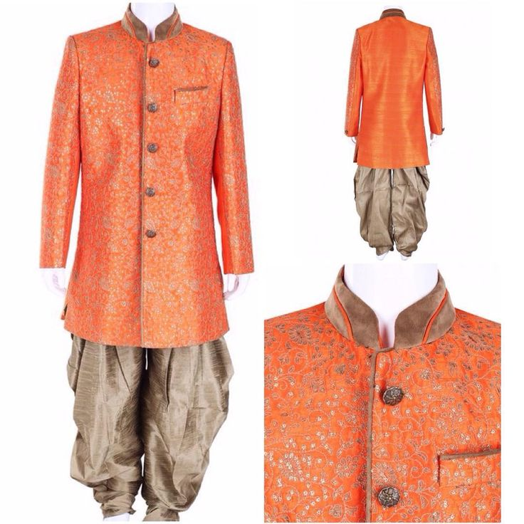 G3 Exclusive Orange Wedding Wear Raw Silk Boys Indo Western. To View more collection at www.g3fashion.com For price or detail do whatsApp +91-9913433322  #g3fashion #IndoWestern #boys #ethnicwear #kids #kidsethnicwear #indianestivals #diwali #festivewear #indianwear #indianwedding #instadaily #indianfashion #kidsfashion #online #shopping #kidswear #vibrant #india #indianmoms #diwali #boyfashion