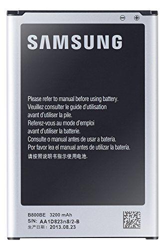 nice Samsung EB-B800BEBECWW - Batería oficial  para móvil Galaxy Note 3 (litio ion, 3200 mAh)