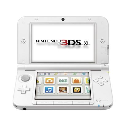Nintendo 3DS XL - White --> My latest amazing baby!