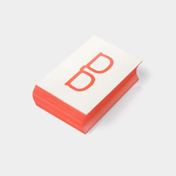 Booki.sh designed by A Friend Of Mine. #branding #businesscards