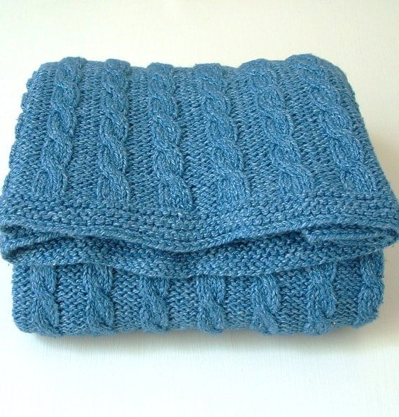 Knitting Pattern Baby Boy Blanket : 54 best images about Knitting Patterns - baby boy on Pinterest