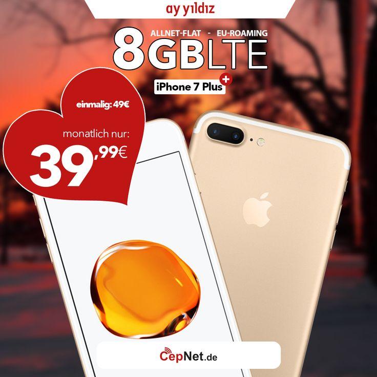 ❤💑🎁 Valentine's Day Sale  Apple iPhone 7 Plus 32GB Schwarz mit günstigem ay yildiz Ay Allnet Plus HW10 Vertrag  👉👉 https://www.cepnet.de/smartphones/apple/iphone-7-plus/32gb-schwarz/ay-yildiz/ay-allnet-plus-hw10/?utm_source=cepnet_sosyal&utm_campaign=iphone7plus&bid=faa    #CepNet #Ayyildiz #Apple #iPhone7Plus #Vertrag #WinterSale #Valentinesday #Deutschland #Valentinstag #Sale #Handy #Smartphone