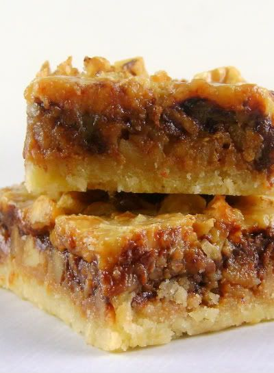 Maple Chocolate Walnut Bars ... yummy!