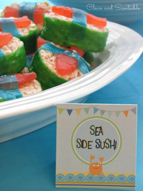 Awesome Under the Sea party ideas!