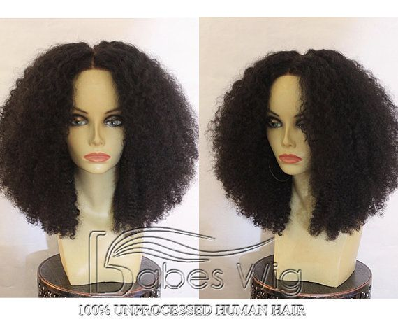 Free Shipping 100% Unprocessed Brazilian Human Hair Afro Kinky Curly Lace Front Human Hair Wigs For African Americans Cheap Front Lace Wigs