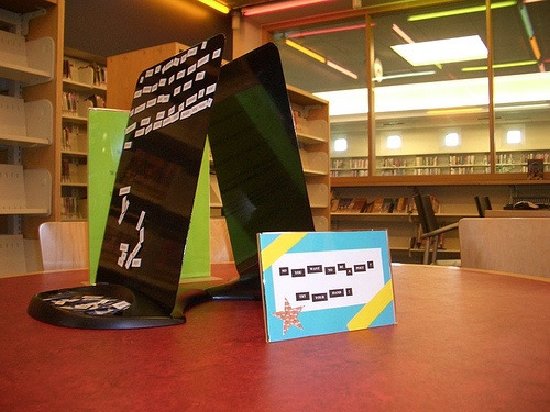 Try your hand at Magnetic Poetry in the Teen Place. by Canton Public Library (MI), via Flickr