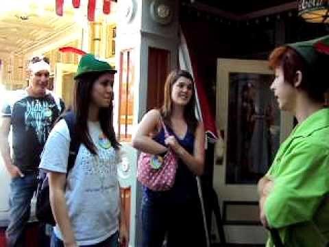 Disneyland Proposal to Spieling Peter Pan