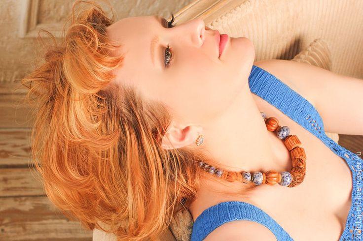 Купить Платье Жемчужное вязаное крючком - разноцветный, цветочный, платья на заказ, платье летнее