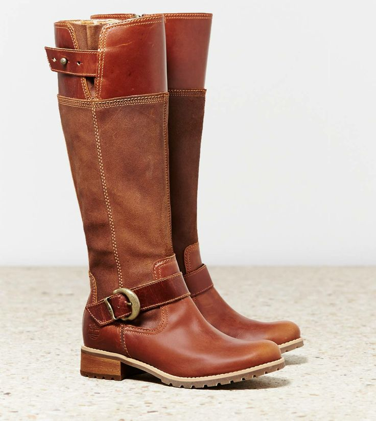 LOVE these boots!! Timberland Earthkeeper's Bethel Buckle Boot at American Eagle