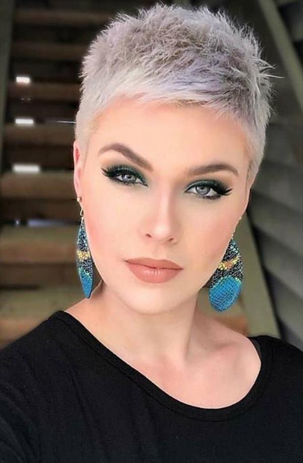 60 Chic undercut short pixie hair style design for cool ...