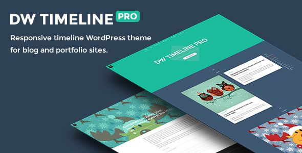 A clean and professional WordPress timeline theme – DW Timeline Pro. Featuring the clean timeline layout from Facebook, DW Timeline Pro is just a perfect WordPress theme for blog and portfol...