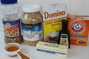 Homemade Cracker Jack Ingredients