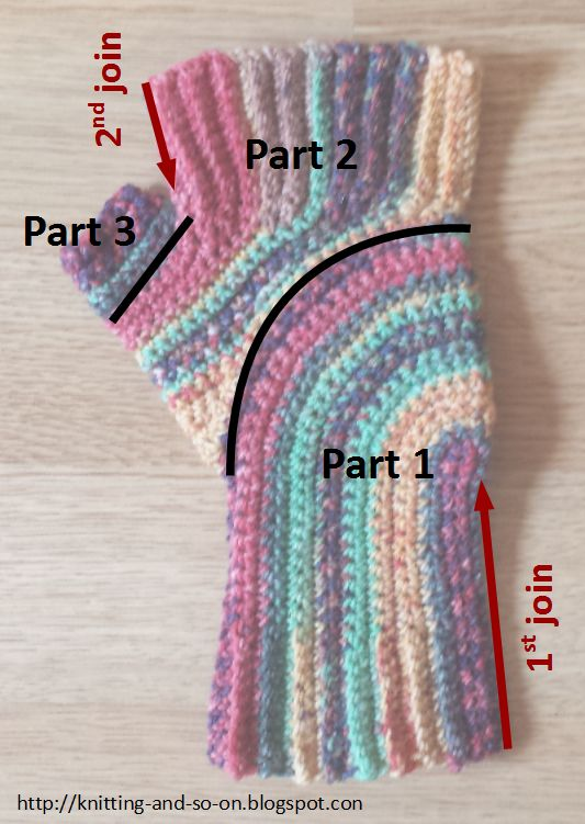 Free Crochet Pattern: U-Turn Mitts~k8~