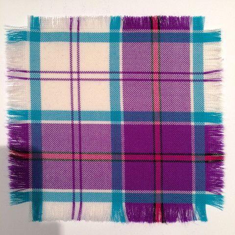Purple Culloden - 100% Wool Tartan Fabric – Highland In Style