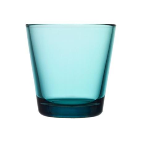 Iittala - Kartio Glass 21 cl seablue 2pcs - Iittala.com