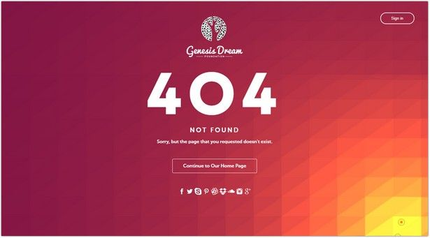List Of The Best 404 Error Page Website Templates In Html That You Can Use For Not Found Page O Website Template Free Website Templates Mobile Website Template