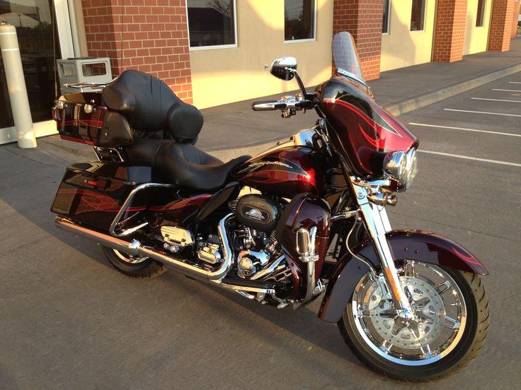 My new 2013 Harley Davidson CVO Electra Glide Ultra Classic