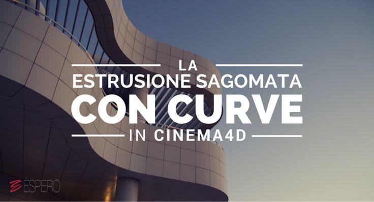 Carlo Macchiavello ci mostra l'estrusione sagomata con curve di Cinema4D. Clicca qui per iscriverti subito al corso Cinema4D da noi: http://www.espero.it/corsi-cinema-4d?utm_source=pinterest&utm_medium=pin&utm_campaign=3DArchitecture