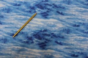 Tela con estampado del cielo con nubes, 110 cm de ancho 100% algodón