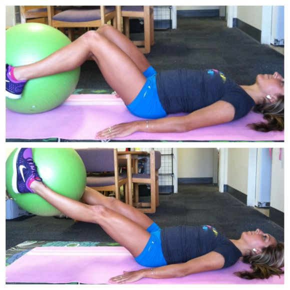 Make the Stability Ball Your Friend with this Killer Ab, Glute, & Inner Thigh Workout! | Eat, Run, and Everything in Between