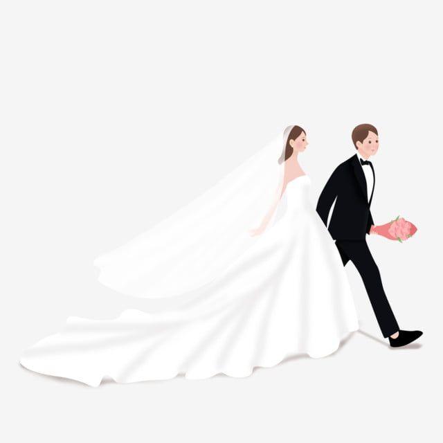 يمكن للعروس والعريس استخدام العناصر التجارية العروس جميلة موسم الزفاف Png وملف Psd للتحميل مجانا In 2020 Bride Wedding Dresses Wedding