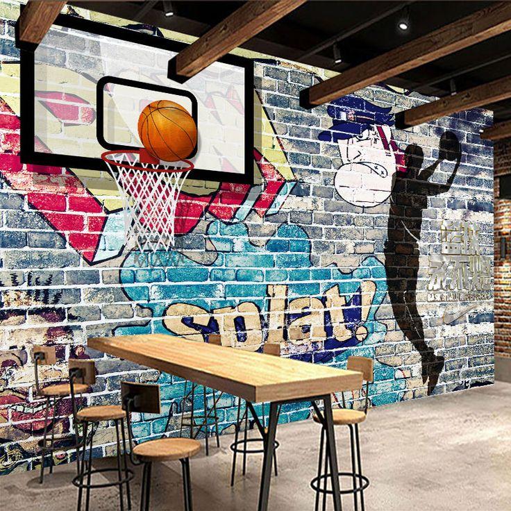 $9.98 (Buy here: https://alitems.com/g/1e8d114494ebda23ff8b16525dc3e8/?i=5&ulp=https%3A%2F%2Fwww.aliexpress.com%2Fitem%2FCustom-Mural-Wallpaper-Abstract-Art-Paintings-Graffiti-Brick-Wall-Basketball-Living-Room-TV-Backdrop-Decorative-Pictures%2F32778371123.html ) Custom Mural Wallpaper Abstract Art Paintings Graffiti Brick Wall Basketball Living Room TV Backdrop Decorative Pictures Modern for just $9.98