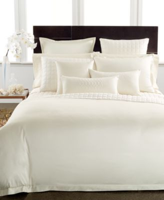 CLOSEOUT! Hotel Collection 600 Thread Count Ivory Egyptian Cotton Bedding Collection  | macys.com