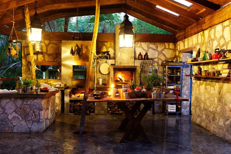 182 best mexican kitchens home decor images on pinterest for Mexican outdoor kitchen designs