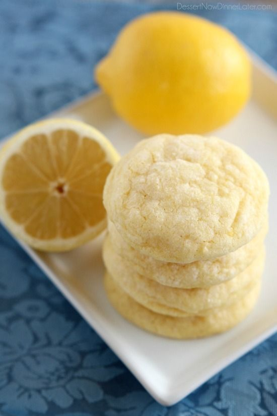 These lemon cookies are soft baked and have plenty of lemon zest, lemon juice…