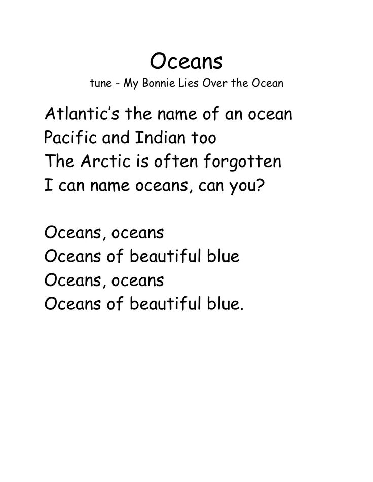 what are the names of the oceans - Google Search