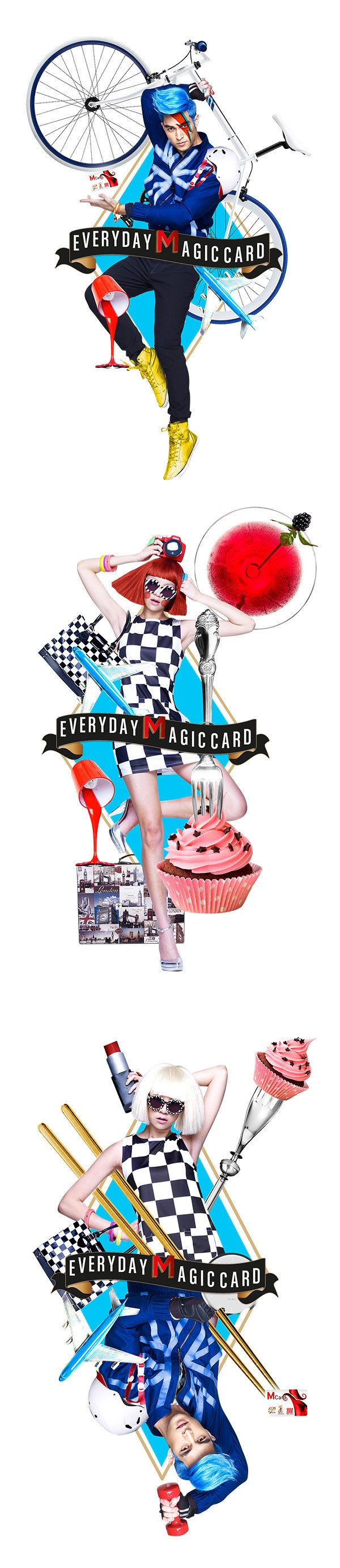 M Card Privileges | Fabulous Friday by Dragon Ink, via Behance