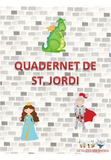 Quadernet amb activitats de St. Jordi. DETALLS AMB ÀNIMA