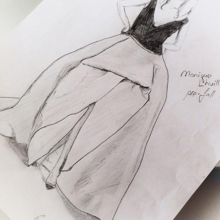 monique luillier illustration drawing