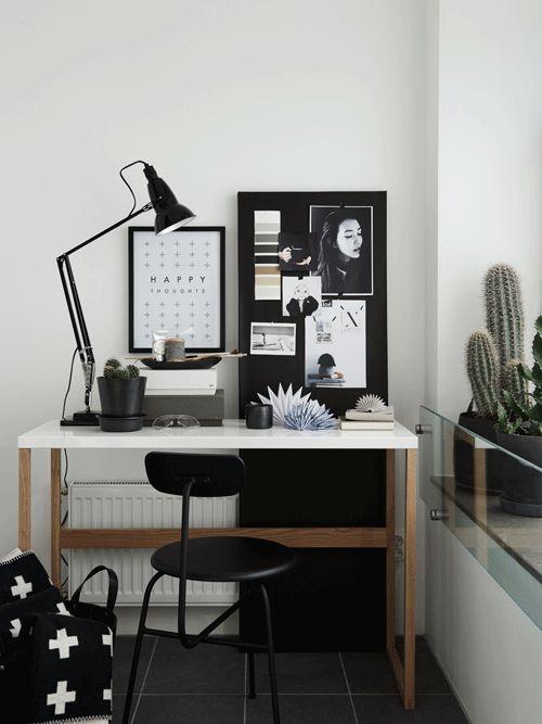 Scandinavian espace de travail de style de Hitta Hem