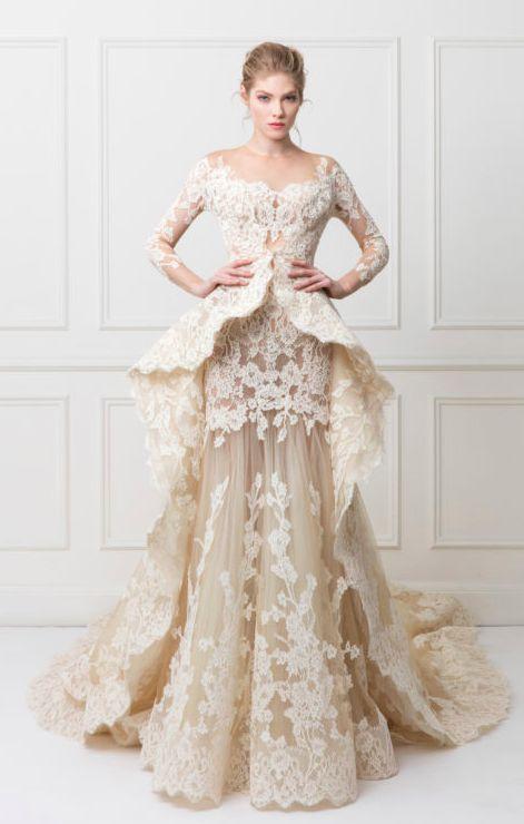 yasmine yeya couture wedding dress inspiration
