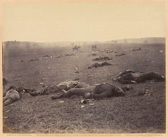 File:Timothy H. O'Sullivan - A Harvest of Death.jpg