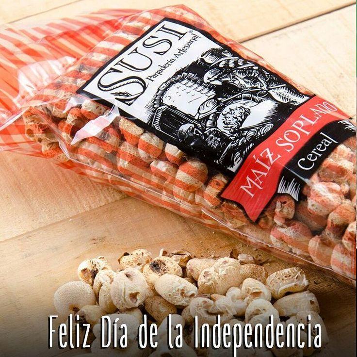 ¡Feliz Día de la Independencia! Te desea #SusiPanaderíaArtesanal, disfrútalo en compañía de soplados #Susi, siempre crocantes y naturales.    #SnackSaludable #Susi #Granola #Pan #Panadería #ComidaSaludable #Cereales #Yummy #Tasty #TradiciónAlemana #Sano #Natural #HealthyFood #NutriciónCreativa #Gluten #Light