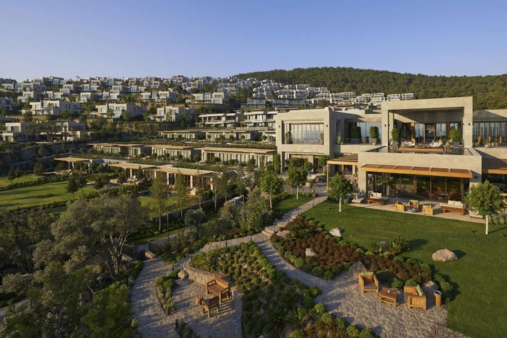Magnificent Waterfront Hotel in Bodrum - http://www.interiordesign2014.com/interior-design-ideas/magnificent-waterfront-hotel-in-bodrum/