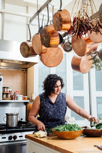Samin Nosrat, currently on the road with Pop-Up Magazine, shares a recipe for kuku sabzi.