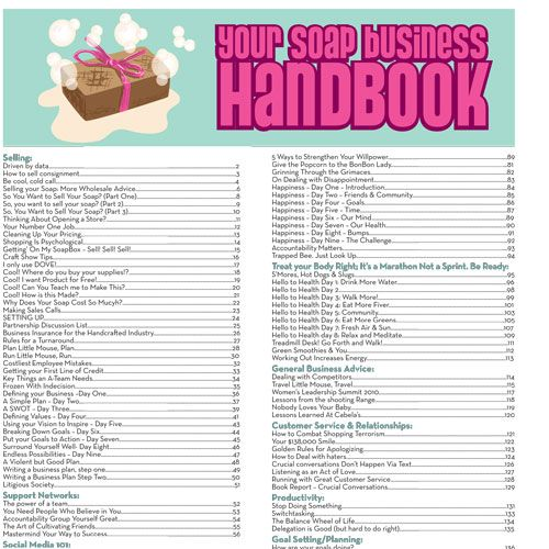 Soap Queen Business Handbook - E-Book | Bramble Berry® Soap Making Supplies