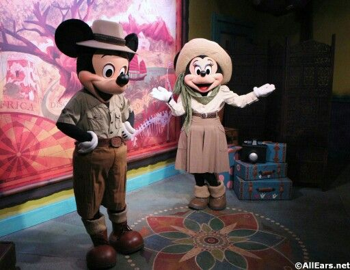 meet minnie mouse at magic kingdom