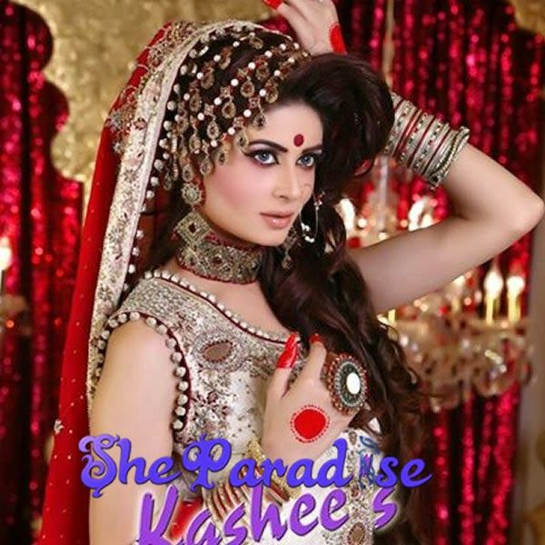 Best Bridal Makeup Parlour : Bridal Makeup by Kashees Beauty Parlour http://www ...
